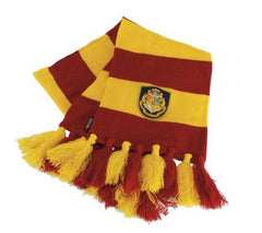 Harry Potter Yellow and Red Hogwarts Knit Scarf