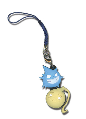 Soul Eater Black Star and Tsubaki Kishin (Soul) Cell Phone Charm