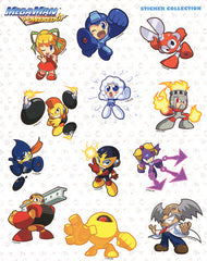 Megaman Powered Up Sticker Sheet