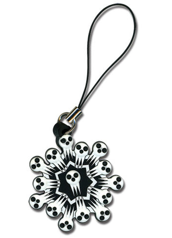 Soul Eater Shinigami Snowflake Cell Phone Charm