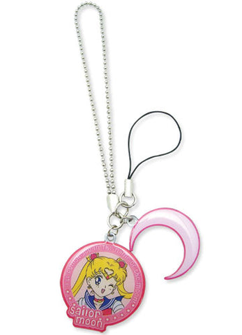 Sailor Moon Sailor Moon & Symbol Metal Cell Phone Charm