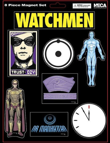 Watchmen Magnet Sheet Dr Manhattan/Ozymandias (Case 50)