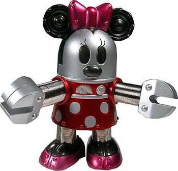 "Disney 5"" Minnie Mouse Robot"