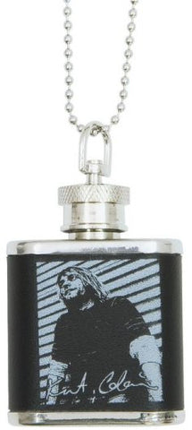 Kurt Cobain Necklace Mini Flask (Case 240)
