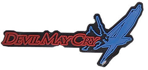 Devil May Cry Keychain- Rubber Symbol (case 1000)