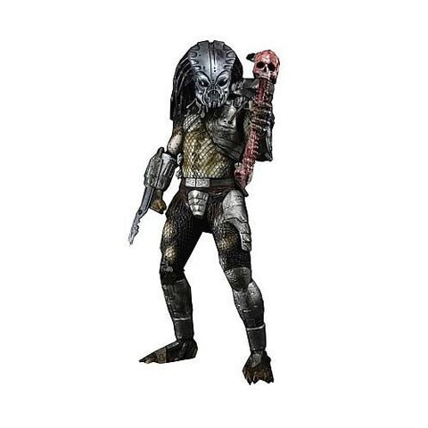 NECA Reel Toys Predator 2 Movie 1/4 Scale Action Figure Guardian Gort Predator with Helmet
