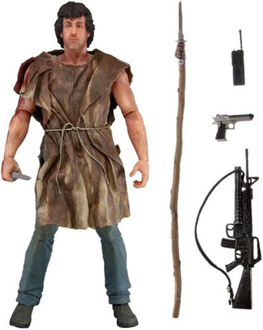 Neca Rambo First Blood Series 2 Survival Rambo Action Figure