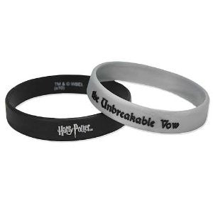 Harry Potter Dh Bracelet Rubber Unbreakable Vow