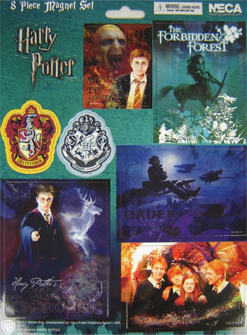 Harry Potter Magnet Sheet 8 piece (case 100 )