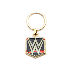 WWE Logo Gold PVD Plated Stainless Steel Keychain