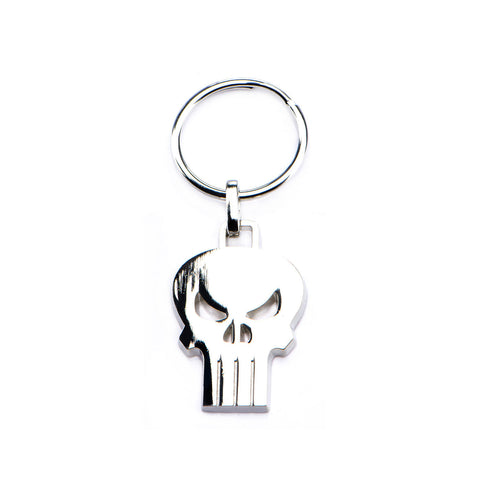 Marvel Punisher Skull Stainless Steel Keychain