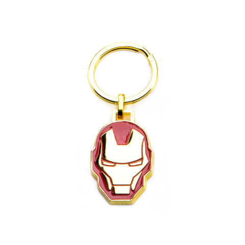 Marvel Iron Man Stainless Steel Gold PVD Plated Keychain