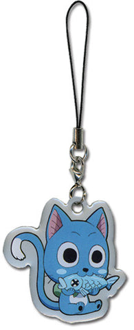 Fairy Tail Happy Cellphone Charm