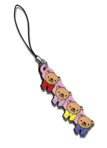 Junjo Romantica Teddy Bears Cell Phone Charm