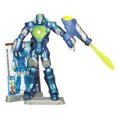 Iron Man 2 Concept Series Figure 06 {Launching Torpedo} 3 Armor Cards
