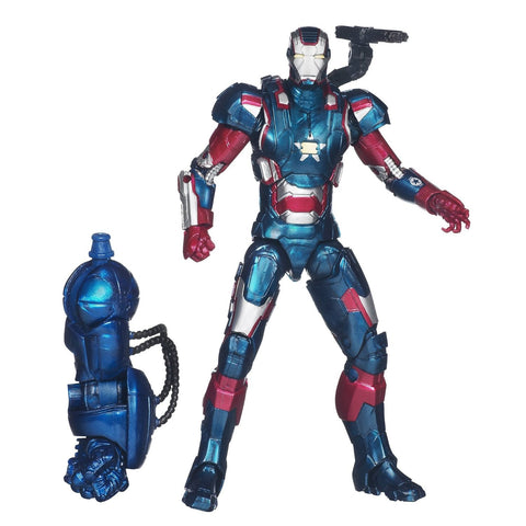 Marvel Iron Man Marvel Legends Lieutenant Colonel James Rhodes 6 Inch Action Figure