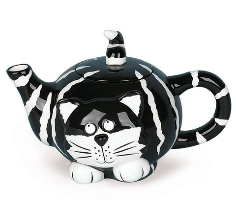 Chester The Cat Ceramic Teapot