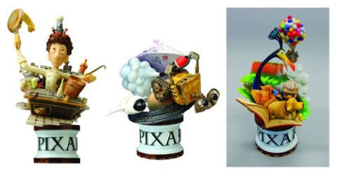 Disney Formation Arts Pixar Box Set (Rataouille / Wall-E / Up)