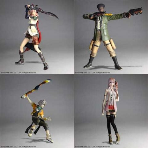 Final Fantasy XIII: Trading Arts Vol. 1 Trading Figure (Set of 4)