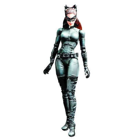 Dark Knight Trilogy Play Arts Kai Catwoman Action Figure
