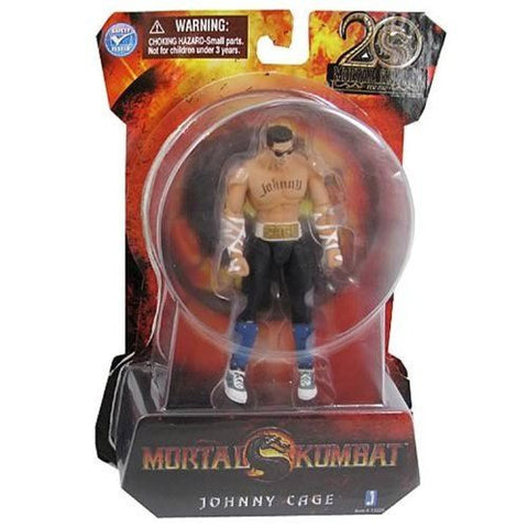 Mortal Kombat 9 4 Inch Johnny Cage Action Figure