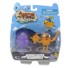 "Adventure Time 2"" Lumpy Space Princess and Lumpy Jake Figures"