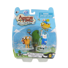 "Adventure Time 2"" Finn & Jake Collector's Pack Figures"