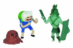Adventure Time Gladiator Ghost & Finn 2 Inch Figures