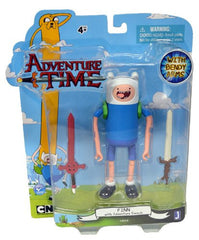 Adventure Time Finn with Two Swords Action Figure