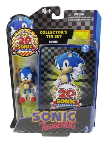 Sonic The Hedgehog 20th Anniversary Action Figure Collectors Tin Set