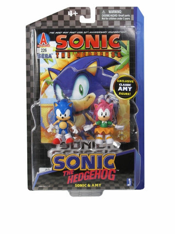 Sonic the Hedgehog Sonic and Amy Comic Pack Set