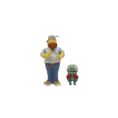 Plants vs. Zombies Crazy Dave & Imp Action Figure