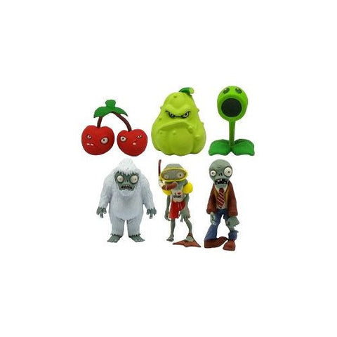 Plants vs Zombies Figures 2 Inch Multipack Assortment