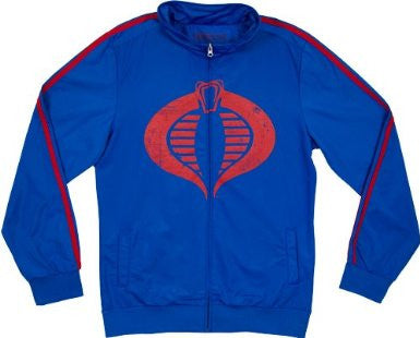 G.I. Joe Cobra Enemy Men's Track Jacket Blue | M
