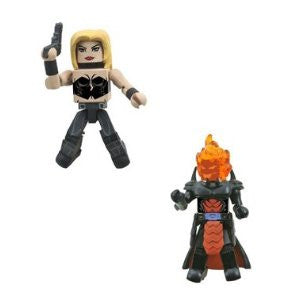 Marvel Vs Capcom 3 Minimates Series 1 Mini Figure 2Pack Trish Vs. Dormammu