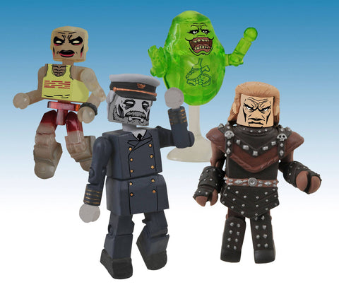 Ghostbusters Minimates Diamond Select Toys Series 4 Box Set