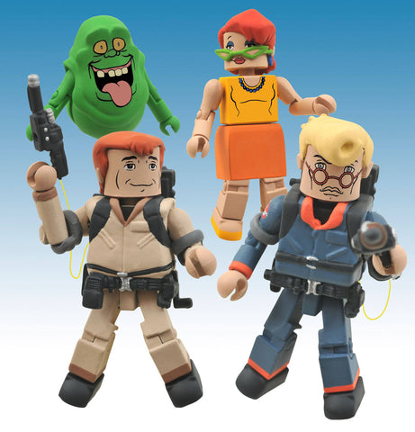 The Real Ghostbusters Minimates Series 1 Action Figures Box Set