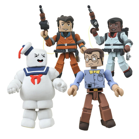 Diamond Select Toys The Real Ghostbusters Minimates Series 2 Box Set