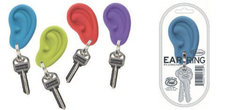 Ear Rings Keychains - Red