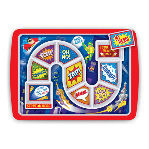 Dinner Winner Superhero Kids Dinner Tray