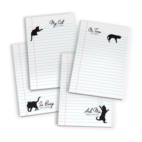 Paw Pads 50 Sheet Sticky Note Pads 4 Count