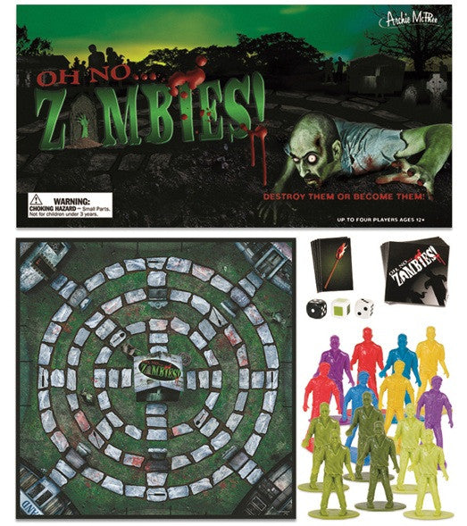 zombies the board game