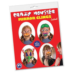 Crazy Monster Mirror Clings