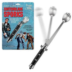 Switchblade Folding Spork