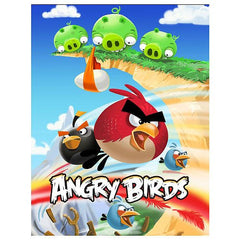 Angry Birds Scene 1 Pigs On Cliff 24 Piece Jigsaw Puzzle
