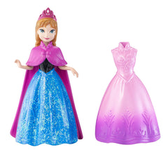 Disney Frozen Anna of Arendelle MagiClip Mini Figure with 2 Dresses