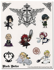 Black Butler Sticker Sheet