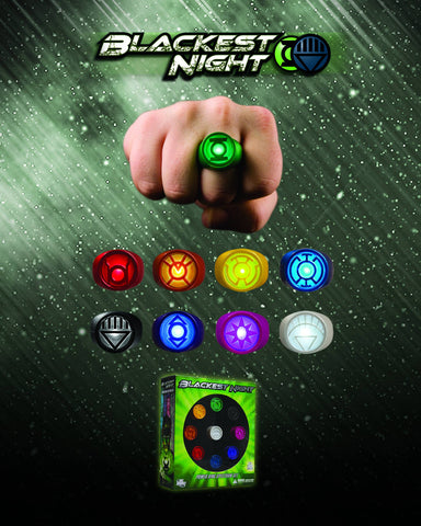Green Lantern: Corp Rings Spectrum Set (Blackest Night)