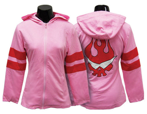Gurren Lagann Nia Hoodie Zip-Up Sweater | L