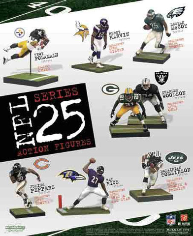 NFL Sports Picks Series 25 Action Figure LeSean McCoy (Philadelphia Eagles) White Jersey Bronze Collector Level Chase